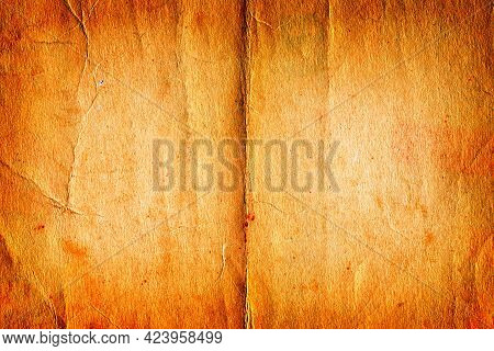 Old And Vintage Paper Texture For Background