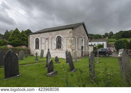 Weslyan Chapel In The Village Of Dent, Cumbria, England