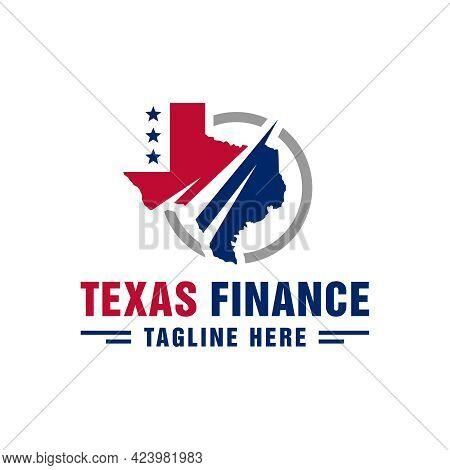 Texas City Financial Data Logo Design Or Brand