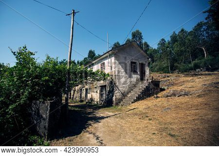 A typical rural house in Northern Portugal.