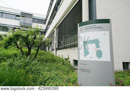 JENA, GERMANY - MAY, 29, 2016:The Max Planck Institute for the Science of Human History (MPI-SHH) in Jena was founded in 2014