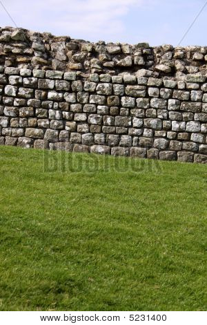 Drystone Wall In Lake District