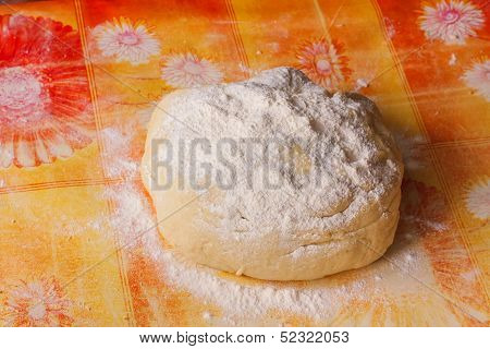 Fresh Homemade Dough For Pizza