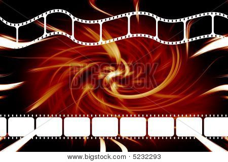 Movie Film Reel Strip