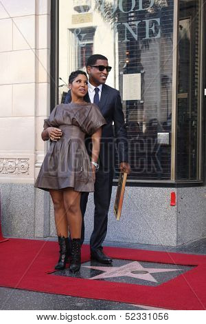 LOS ANGELES - OCT 10:  Toni Braxton, Kenny
