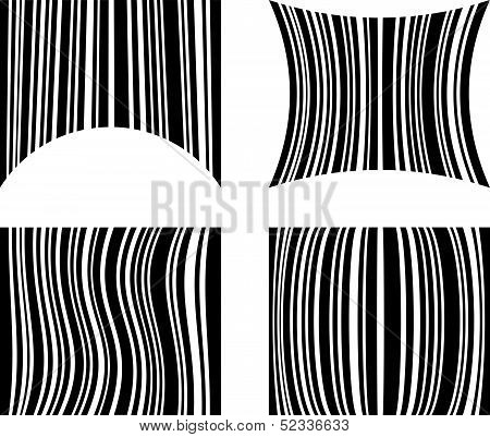 Abstract Bar code design- POS sale