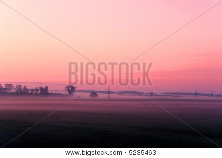 Sunrise In Purple