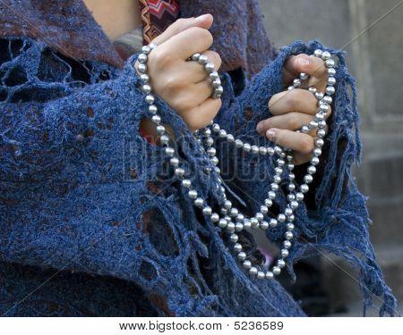 Beads In Hands