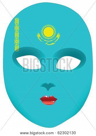 Kazakhstan Faso Mask