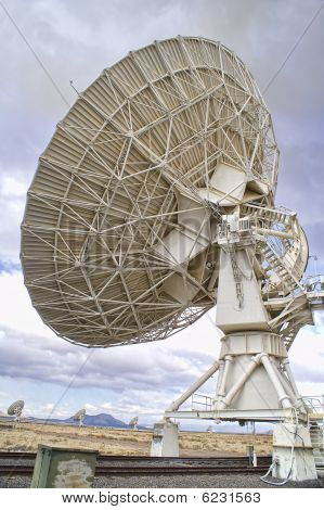 Landscape of Very Large Array of Radio Telescopes in New Mexico USA. poster