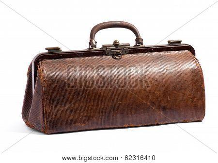 Old Brown Doctors Bag