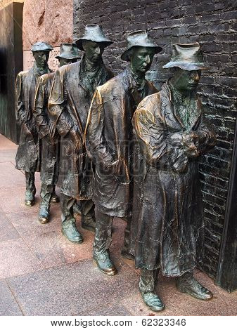 The Breadline By George Segal