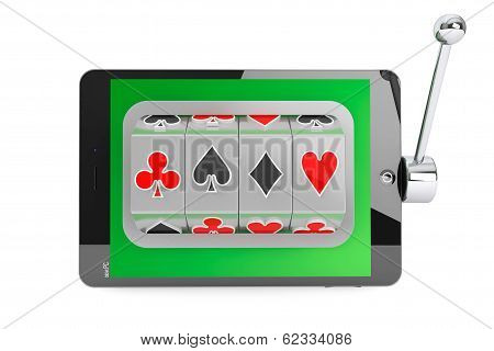 Slot Machine Inside Tablet Pc