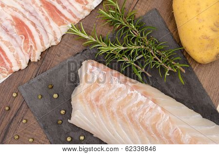 Cod With Rosemary And Potato