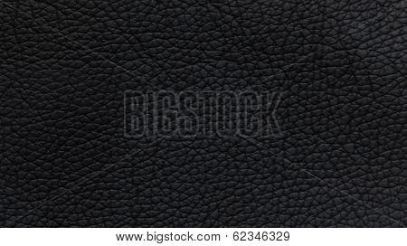 Black Artificial Furniture Leather