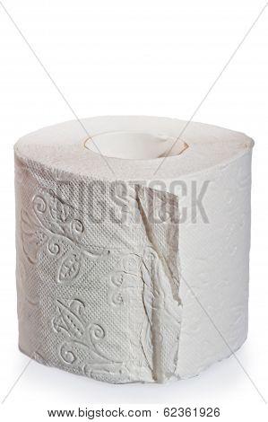 Multilayer Soft Toilet Paper Close Up