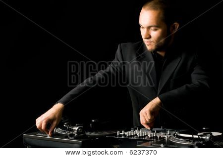 Deejay At Work