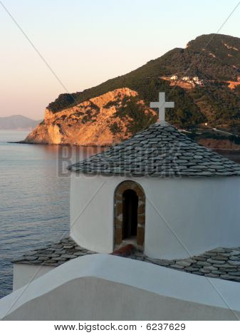 Greek Island View