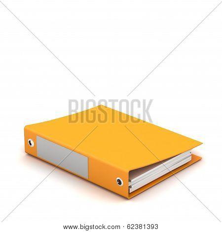 3D Illustration Of Documents Folder