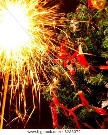 Weihnachten sparkler