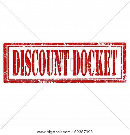 Discount Docket-stamp