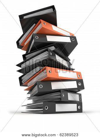 Heap Of Archive Folders