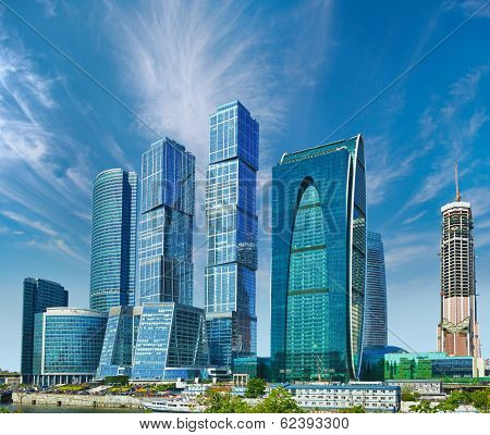 Business Center With Skyscrapers - Moscow City, Russia