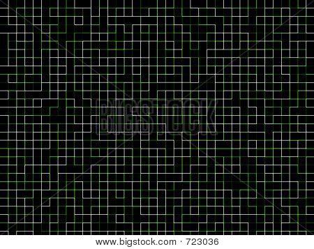 Neon Matrix Grid