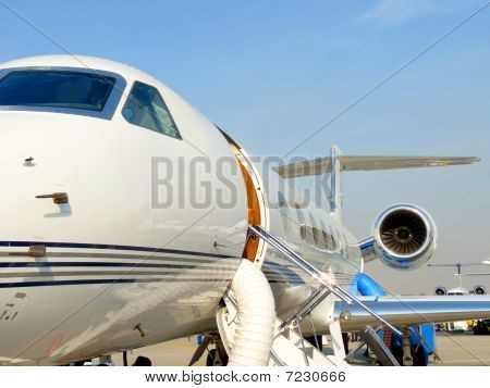 Chartered Plane