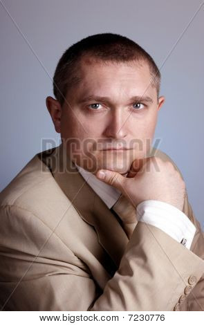 Portrait Of The Man