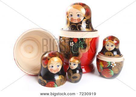 Matryoshka - Russian Nested Dolls
