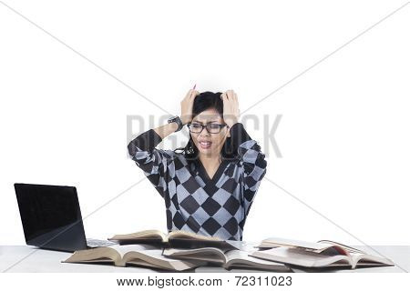 Stressful Student Having Many Problems 1