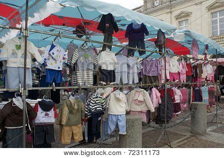 Rummage sale in town