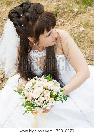 Bride In A Profile