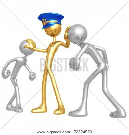 Golden Peace Officer