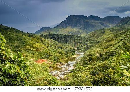 Stunning mountain landscape in Madagascar