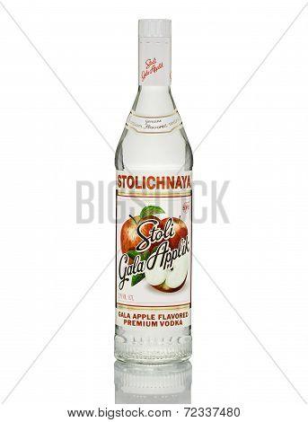 Stolichnaya Gala Apple Flavored Premium Vodka