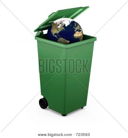 Globe In A Bin