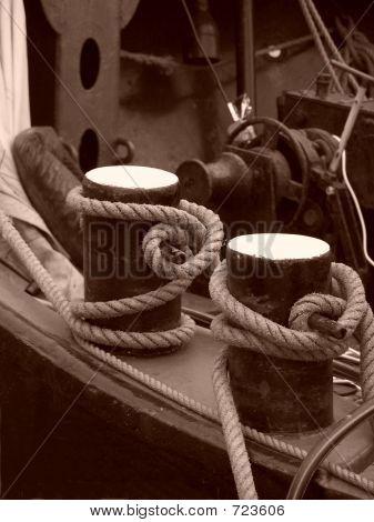 Boat Ropes.