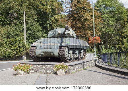 Achilles Tank Destroyer Mk10 At La Roche-en-ardenne