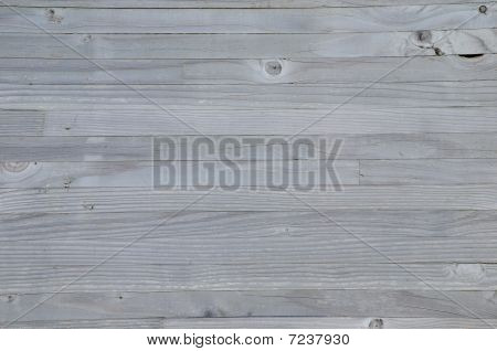 Old wooden boards with grain glued together poster