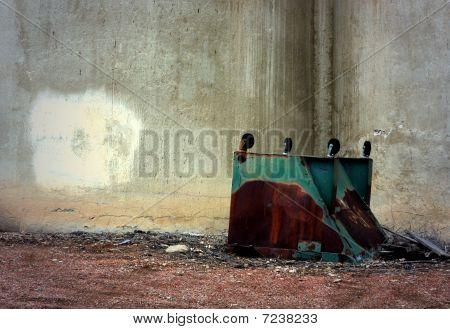 Inverted Dumpster