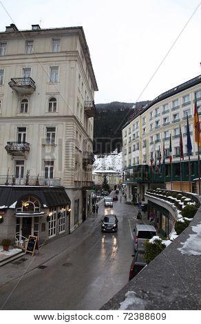 Bad Gastein - One Of The Most Popular Ski Resort In The Austria .