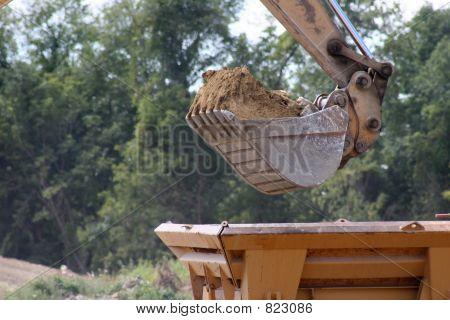 Construction - Bucket of a Backhoe
