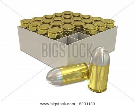 Bullets in holder