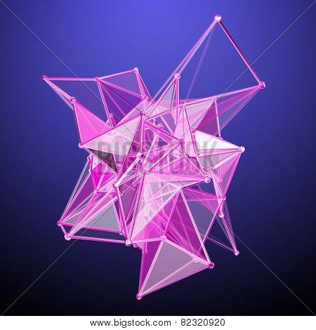 3D Polygonal Abstract Design