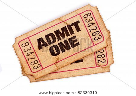 Stained And Damaged Admission Tickets