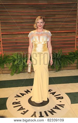 WEST HOLLYWOOD - MAR 2:: Marley Shelton at the 2014 Vanity Fair Oscar Party on March 2, 2014 in West Hollywood, California