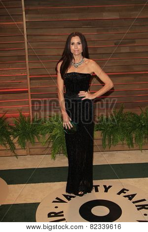 WEST HOLLYWOOD - MAR 2:: Minnie Driver at the 2014 Vanity Fair Oscar Party on March 2, 2014 in West Hollywood, California