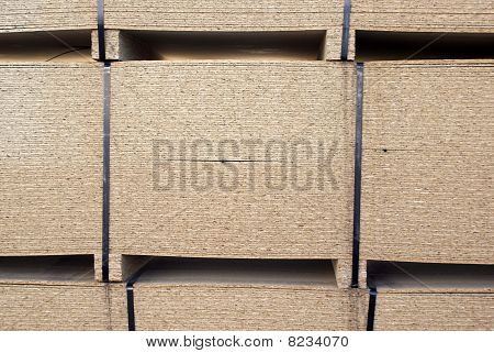 CPD wood stick palettes taped stack segment. poster